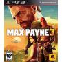 Jogo Ps3 - Game Original - Max Payne 3
