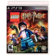 Ps3 - Lego Harry Potter - Years 5-7 - Novo - Lacrado!
