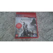 Assassins Creed 3 Ps3 - Legendado Em Português! - Lacrado!
