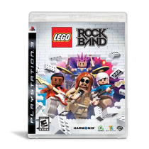 Ps3 - Lego - Rock Band - Novo - Lacrado!!!