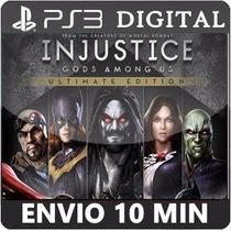 Injustice Gods Among Us Totalmente Em Português Psn Ps3