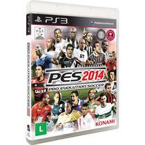 Jogo Pes 2014 (pro Evolution Soccer) - Ps3 Frete Grátis