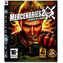 Mercenaries 2 Ps3 Mercenarios 2 Usado Perfeito Estado