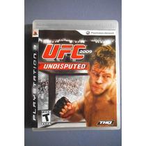 Ufc 2009 Undisputed - Região 1 - Jogo Original Do Ps3