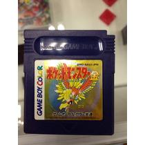 Pokemon Gold Gameboy Color Original 1999