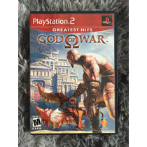 Novo Jogo God Of War Original Ps2 Cx Mnl 100%