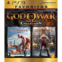 Jogo God Of War Collection Ps3 - Novo Mídia Fisica Original