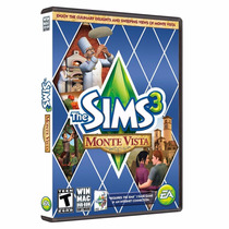 Jogo The Sims 3 Original - Expansão Monte Vista - Pc Dvd