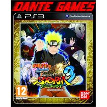 Naruto Ultimate Storm 3 Full Burst Legendas Em Português Ps3