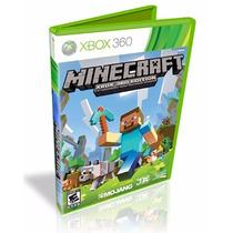 Minecraft Xbox 360 Original Lacrado Pronta Entrega Português