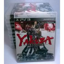 Yakuza Dead Souls Ps3 Novo E Lacrado Rcr Games