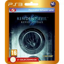 Resident Evil Revelations (código Ps3)
