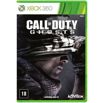 Call Of Duty Ghosts Xbox 360 Pt Mídia Fisica Original Lacrad