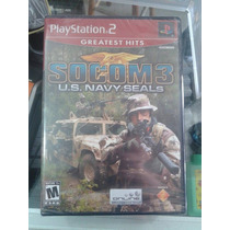 Socom 3 Us Navy Seals Ps2 Lacrado