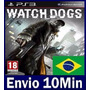 Watch Dogs Ps3 Digital Código Psn Dublado