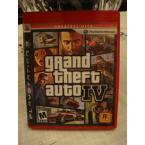Jogo Gta 4 Grand Theft Auto Iv Ps3 Playstation 3