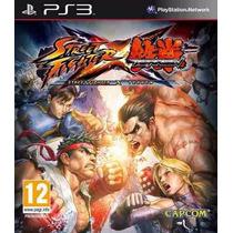 Street Fighter Vs Tekken Ps3 Código Psn Original Aceito Mp