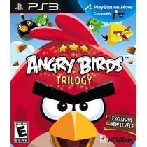 Ps3 - Angry Birds Trilogy - Míd Fís - Original - Original