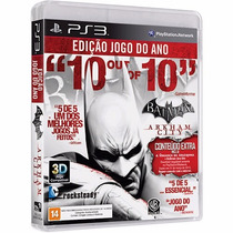 Batman Arkham City Goty Ps3 Mídia Física Lacrado Rcr Games