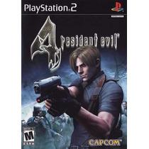 Resident Evil 4 Ps2 Com Codigos Destravados Em Português Br