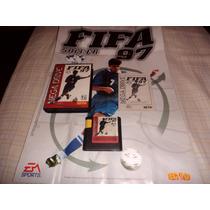 Fifa 97 - Mega Drive (original Com Caixa, Manual E Pôster)