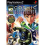 Jogo Ps2 - Ben 10 - Alien Force Cosmic Destruction