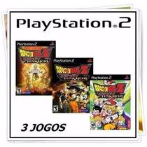 Dragon Ball Z Budokai Tenkaichi Patch 1, 2 E 3 Play2 / Ps2