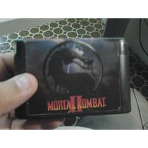 Mortal Kombat Ii Mega Drive Jogo Muito Bom Top De Linha