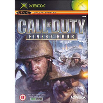 Xbox Game Geracao 1 - Call Of Duty Finest Hour