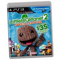 Little Bigplanet 2 Special Edition Original Lacrado Ps3 !!!