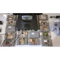Lote De 9 Cartuchos Originais De Nintendo 64