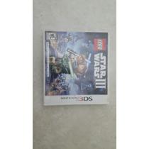 Jogo Lego Star Wars Iii Nintendo 3ds Game