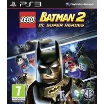 Lego Batman 2 Ps3 Usado Original Midia Fisica