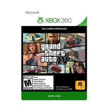 Grand Theft Auto Iv - Xbox 360 - Codigo 25 Digitos