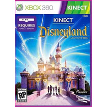 Kinect Disneyland Adventures Jogo Xbox 360 Original Lacrado