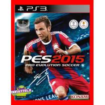Pro Evolution Soccer Pes 2015 Ps3 - Psn Dublado Portugues Br
