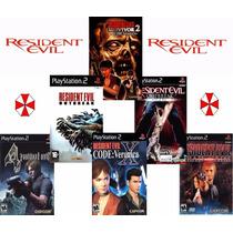 Games Resident Evil 4 - Todos Jogos Pra Ps2 Play 2 + Brinde