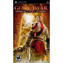 Jogo Psp God Of War Chains Of Olympus Original Lacrado