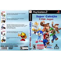 Coleção 7784 Jogos Antigos Emulador Pc Ps2 Download Imediato