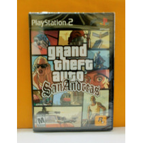 Gta San Andreas - Playstation 2 Ps2 - Novo - Lacrado