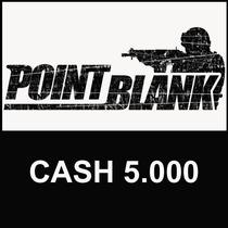 Point Blank - Cartão De 5.000 Cash - Envio Imediato! Ongame