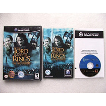 Game Cube: Lord Of The Rings The Two Towers Completo! Jogão!