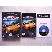Game Cube: Need For Speed Hot Pursuit 2 Americano Completo!!