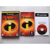 Game Cube: Disney The Incredibles Americano Completo! Jogão!