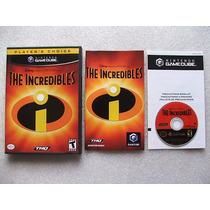 Game Cube: Disney The Incredibles Americano Completo! Jogão!