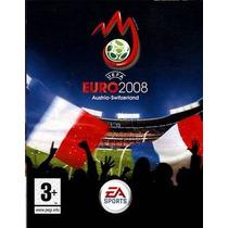 Game - Pc Dvd Jogo Uefa Euro 2008 - Futebol - Ae Sportes