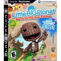 Little Big Planet Goty Jogo Ps3 Original Lacrado
