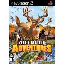 Jogo Cabela`s Outdoor Adventures Da Activision Para Ps2