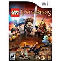 Jogo Novo Lacrado Lego Senhor Dos Anéis Para Nintendo Wii