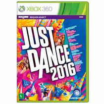 Just Dance 2016 Xbox 360 Lacrado Nacional Original Rcr Games